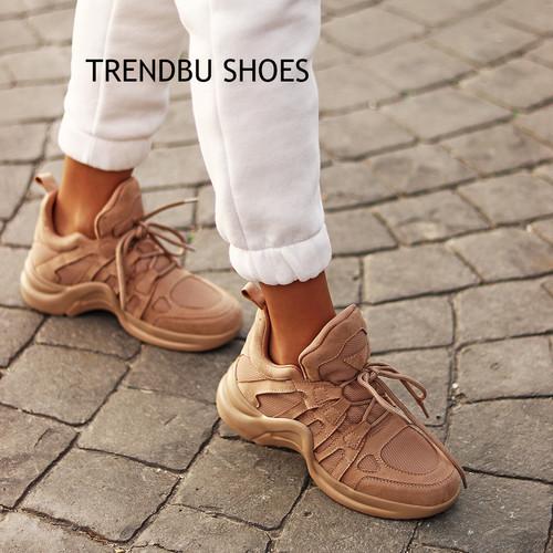 Toprak Kadın Spor Ayakkabı - Thumbnail