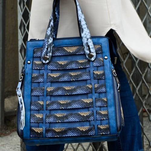 - katy saks mavi çanta